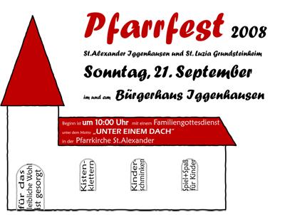Pfarrfest 2008 in Iggenhausen