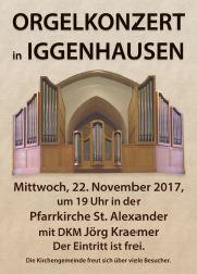 Orgelkonzert in Iggenhausen