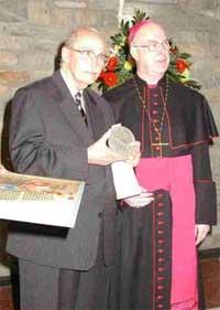 Weihbischof Becker u. Otto v. Habsburg
