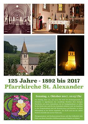 125 Jahre Pfarrkirche - bitte anklicken