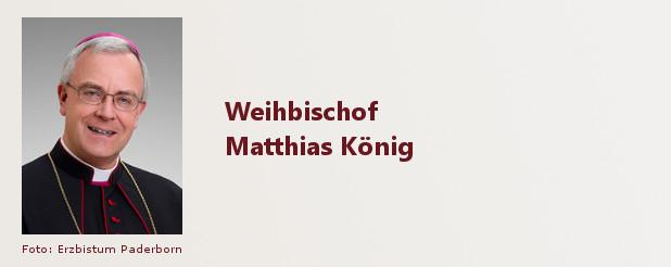 Weihbischof Matthias König